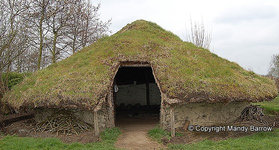 Celtic Round Houses And Hill Forts