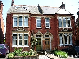 This house was built when Queen Victoria was on the throne 100 years ago. & Typical houses