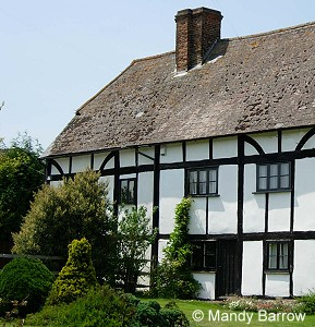 Tudor houses are known for their 'black-and-white' effect.