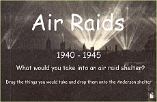Air Raid Game from BGfL
