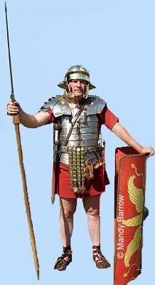 Primary Homework Help Roman Shield
