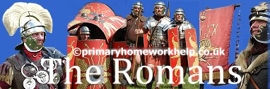 primary homework help roman weapons